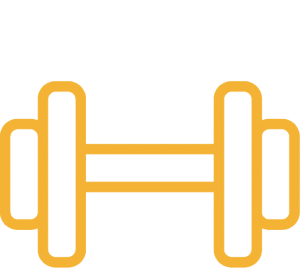 dumbbell weight icon
